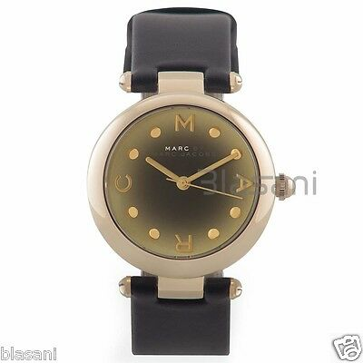 Marc by Marc Jacobs Original MJ1409 Dotty Women's Black Leather Strap Watch
