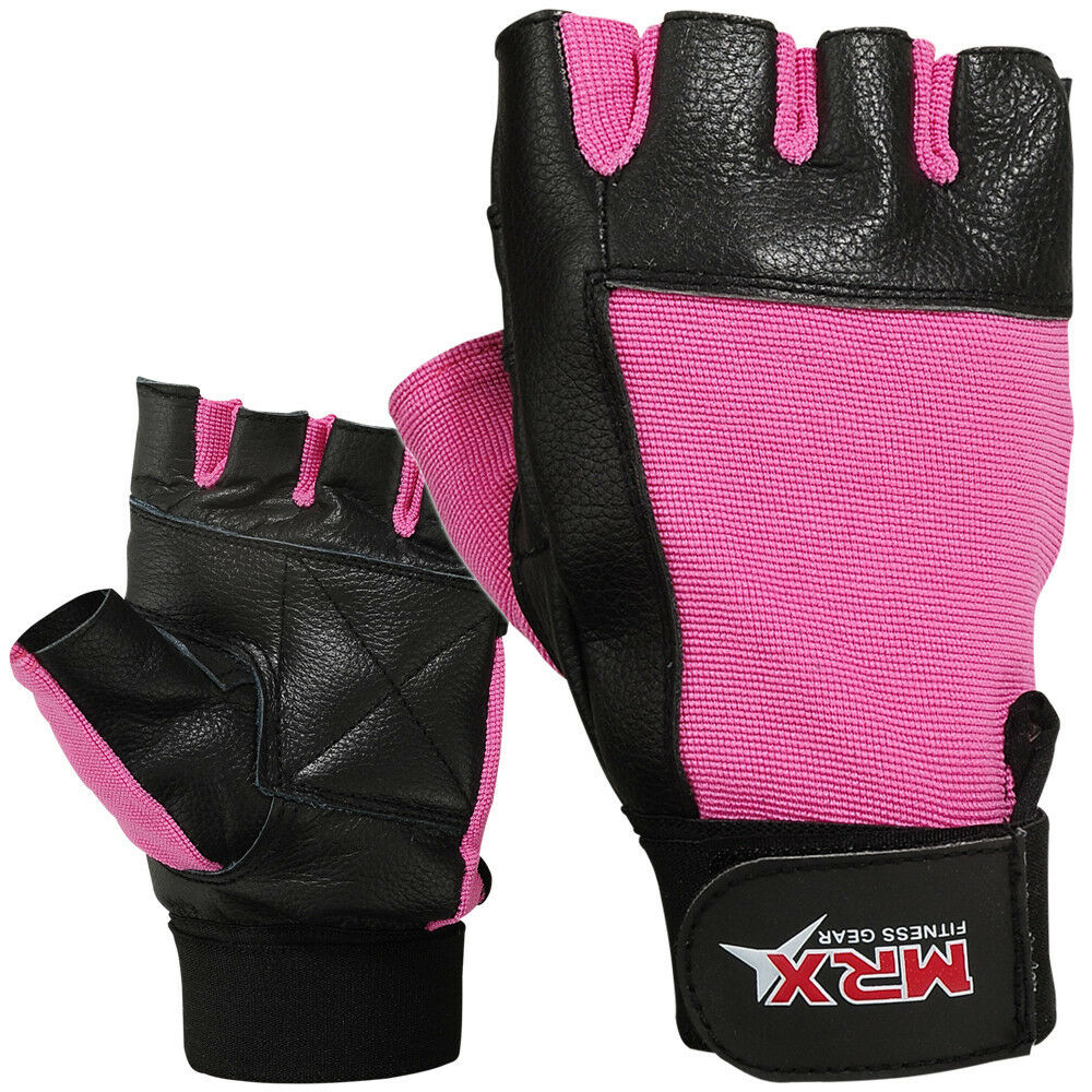Reebok Strength Training Gloves Weight Lifting Fitness: Ladies Weight Lifting Gloves Leather Fitness Glove Gym