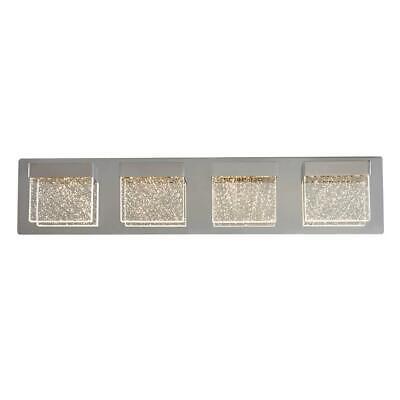 Artika Bubble Cube 24 in. Chrome LED Vanity Light Bar VAN4BC-ON 24 Vanity Bar