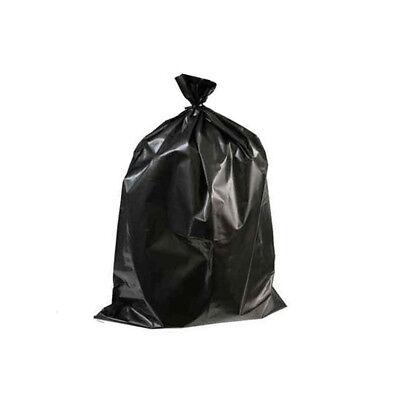 Black Bin Bags Heavy Duty Liner Disposable Refuse 600 Sacks 18