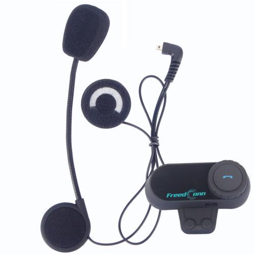 800M Motorcycle Helmet to Helmet Intercom Interphone Bluetooth Headset FM T-COM