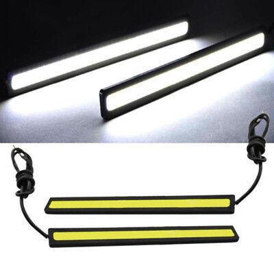 Useful Car Daytime Running Fog LED Lights Strip Waterproof Cold White Lamp