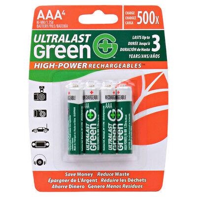 Dantona UltraLast ULGHP4AAA Green High Power/Capacity NiMH 4-Pack AA
