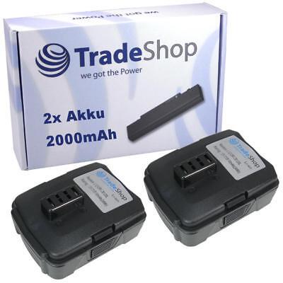 2x AKKU 12V 2000mAh Li-Ion ersetzt Ryobi 130503001 130503005 BPL-1220 CB120L