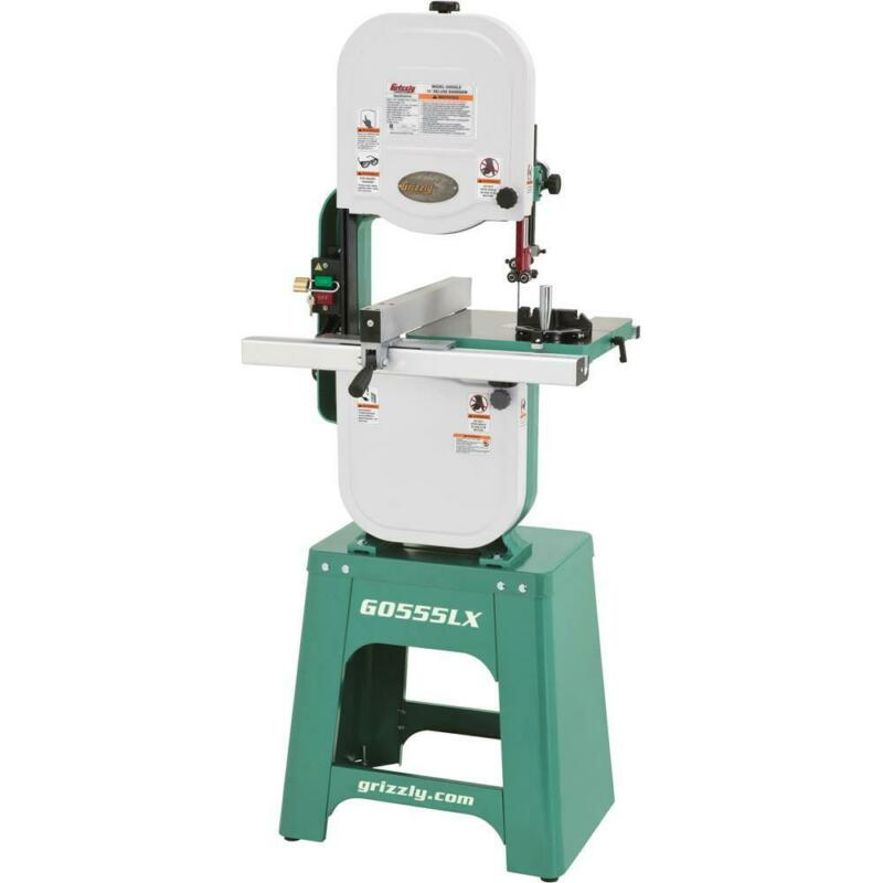 """Grizzly G0555LX 14"""" 1 HP Deluxe Bandsaw"""