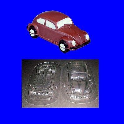 Schokoladenform -Hohlfigur-Gießform - VW Käfer 16cm