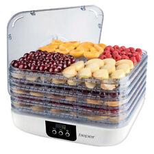 Essiccatore Alimenti Professionale 8 Ripiani Capiente Funghi Secchi Frutta Vegan