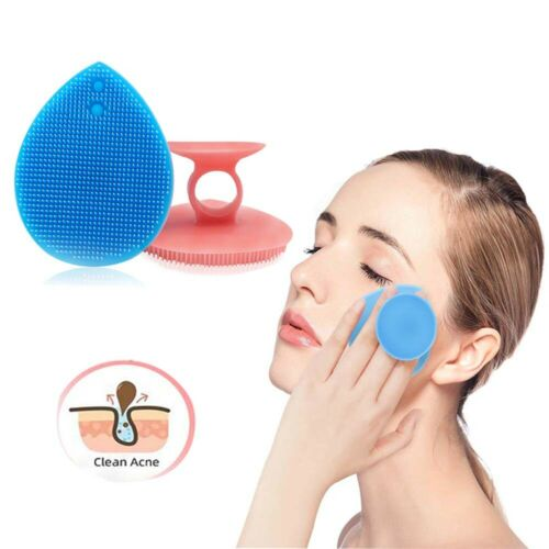 2 Silicone Face Scrubber Facial Cleansing Brush Exfoliating Deep Cleansing USA