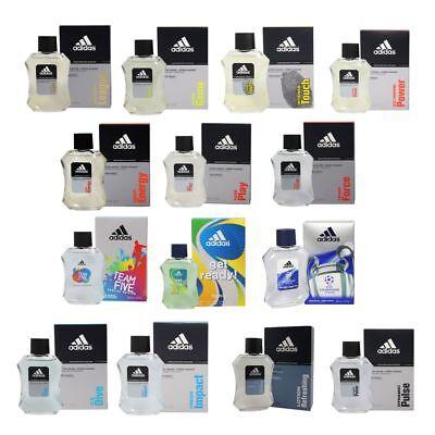 Adidas diverse Sorten 3 x 100 ml Aftershave After Shave - verschiedene Sorten