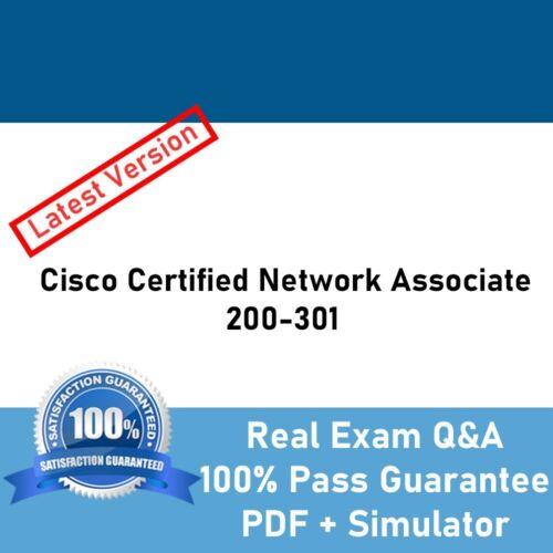 Cisco Certified Network Associate CCNA 200-301 Exams questions + Simulator 2020