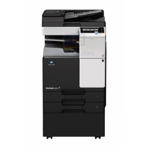 Konica Minolta Bizhub C287 A3 Color Laser Copier Printer Scanner Mfp 28 Ppm C227