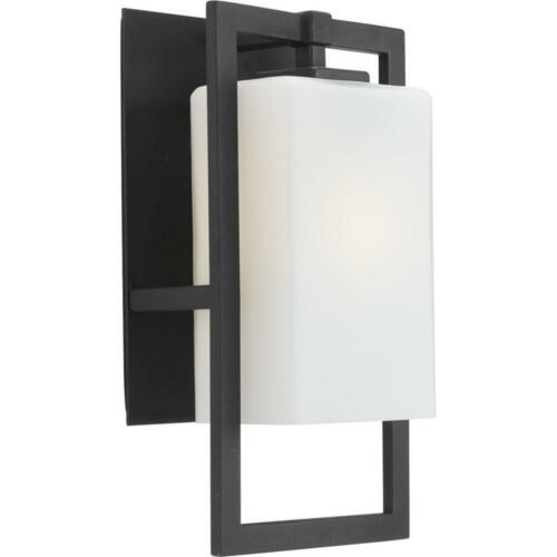 Progress Lighting Jack Collection 1-Light Large Black Outdoor Wall Lantern