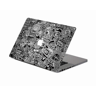 Cartoon Doodle Laptop Mac Decal Sticker Vinyl Skin for MacBook Air Pro Retina
