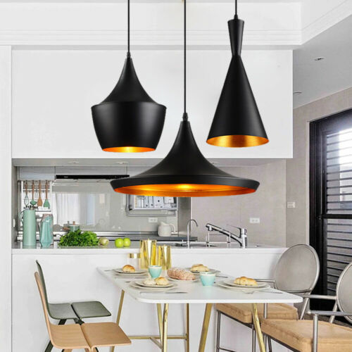 Modern Chandelier Fixture LED Ceiling Light Iron Pendant Lig