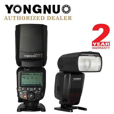 Yongnuo YN600EX-RT II E-TTL HSS Wireless Master Flash Speedlite for Canon EOS