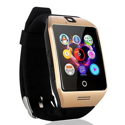 Bluetooth LCD Set off With Camera NFC Smart Wrist Watch For Android IOS Cell Phone