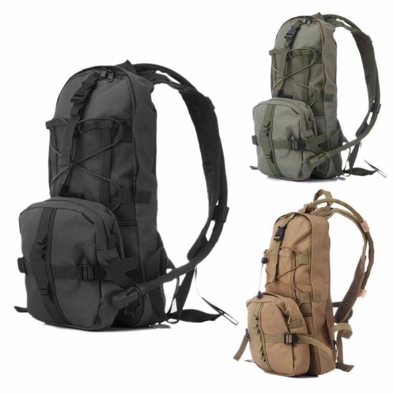 Tactical Water Bag Hydration Backpack Hiking Cycling Camping Running Water Pack