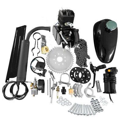 Engineering Motors - Full Set 80cc Bike Bicycle Motorized 2 Stroke Petrol Gas Motor Engine Kit Set