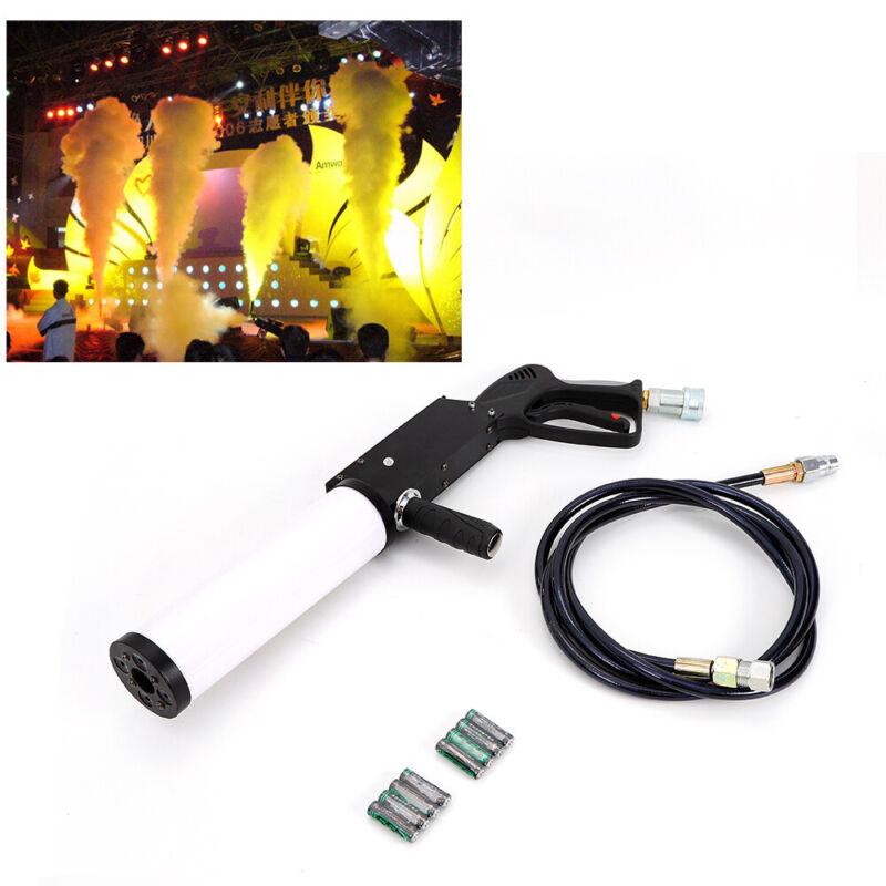 New LED CO2 Handheld Cryo Cannon DJ Gun w/ 3m Hose Jet Special Effects Fog Smoke