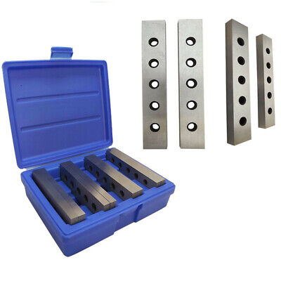4 Pairs 8pc 316 Precision Mechanist Parallel Steel 0003 Hardened Square Gauge