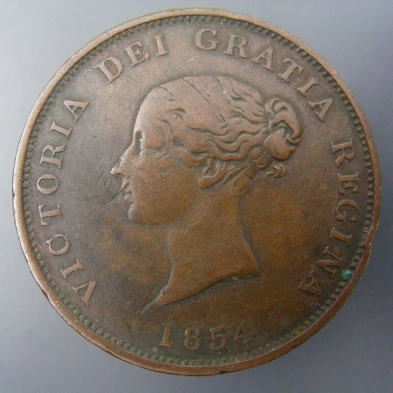 New Brunswick 1854 One Penny 1c One Cent