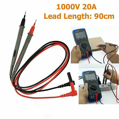 Smd Multimeter Test Probe Lead Needle Inductor Testing Tweezer Wire Cable Testor