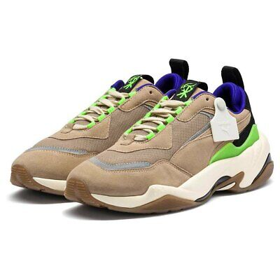 Size 11.5 Men's PUMA Thunder Sankuanz Sneakers 370821-01 Chinchilla Black $150