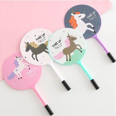 Korean Unicorn Novelty Cute Fan Ballpoint Pens Fun Gift Toy Party Bag Kids Gift (Fun Pens)