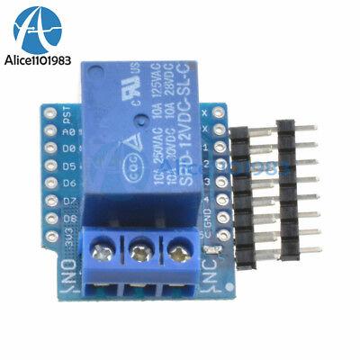 Wemos D1 Mini 12v Esp8266 Wifi Relay Shield Development Board For Arduino
