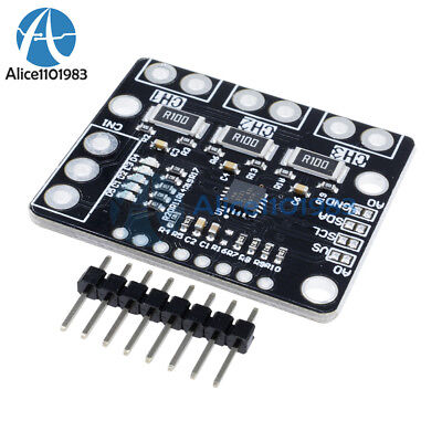 Ina3221 I2c Triple-channel Shunt Current Voltage Monitor Sensor Re Ina219 Module