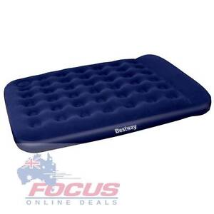 Bestway Queen Inflatable Air Mattress Bed w/ Built-in Foot Pump Melbourne CBD Melbourne City Preview