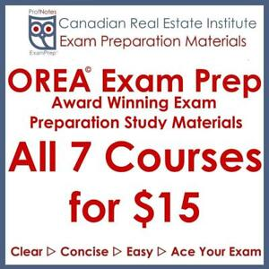 OREA Real Estate License RECO Textbooks Exams Study Notes & Questions, Tutor Preregistration & Articling Courses pdf