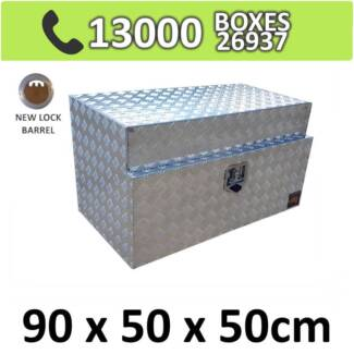 Aluminium Toolbox Ute Truck Underbody Under Tray Storage Box 955