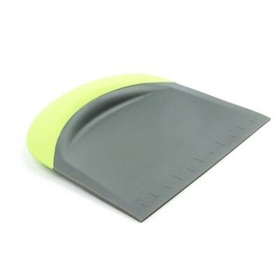 Green Kitchen Bowl - Fox Run 3 in 1 Silicone Bowl Dough Scraper Chopper Cutter Kitchen Gadget, Green
