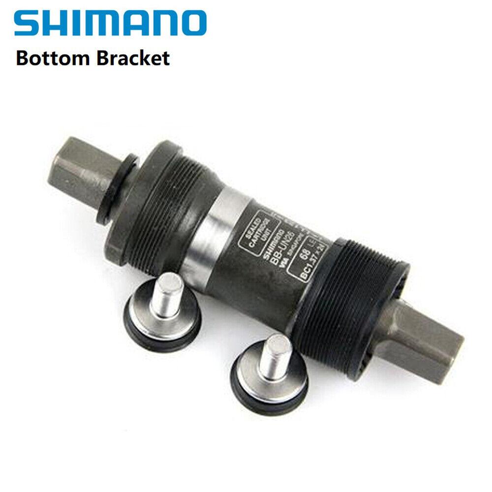 NEW Shimano Tourney BB-UN26-E Square Taper E-Type FD Bottom Bracket 73 x 123mm