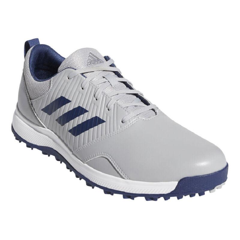 Adidas CP Traxion Spikeless Golf Shoes - Gray/Indigo