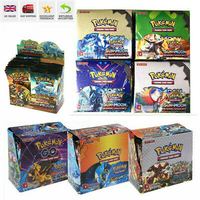 324pcs Cards Pokemon TCG Booster English Edition Break Point 36Packs Gift UK