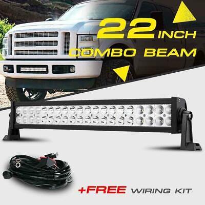 "22"" 280W CREE LED Work Light Bar Spot Flood Driving Offroad"