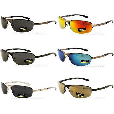 Khan Aviator Sunglasses Classy Design Driving Metal Mens Met