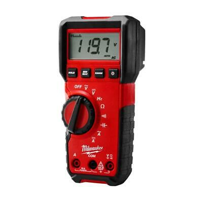 Milwaukee Test Meter Digital Multimeter Detector Electrical Tool 10 Amp 600 Volt