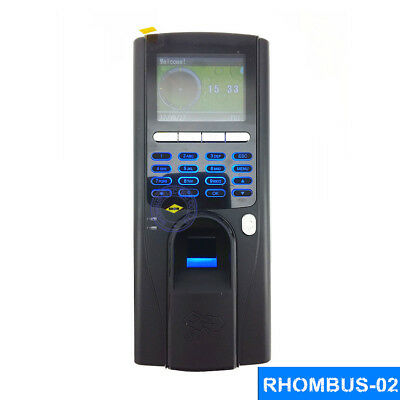 Professional Fingerprint Time Clock Door Access Control Systemid Card Password