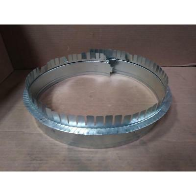 Atco Metals 01101018pw-477380 18 Galvanized Duct Board Start Collar 186870