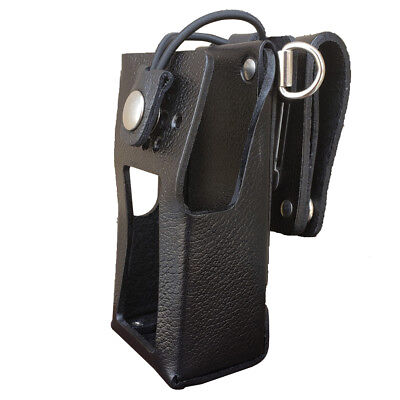 Case Guys Kw9070-3bwd Hard Leather Holster For Kenwood Nx-3220 Nx-3320 Radios