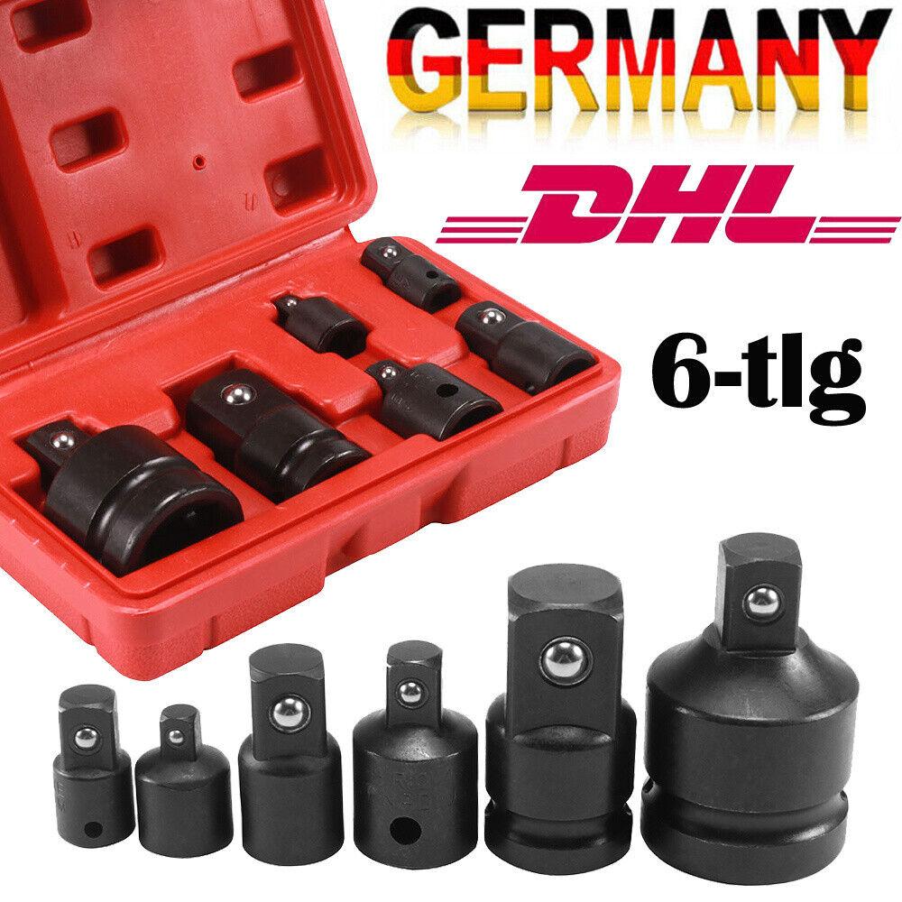 Schlagschrauber Nuss Adapter 3//8 auf 1//4 Zoll Steckschlüssel Einsatz Stecknuss