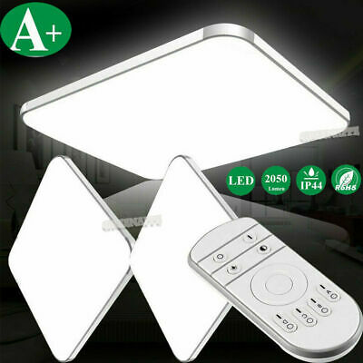 LED Dimmable Ceiling Light Ultra Thin Flush Mount Kitchen Square Home Fixture US Square Light Fixture