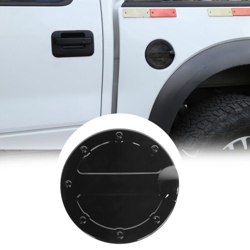 Car Door Gas Cover Door Fuel Tank Trim For Ford F150 Raptor 2009-14 Accessories