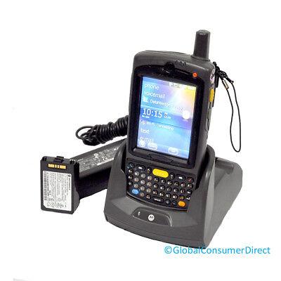 Motorola Mc75a0-py0swqqa9wr 1d Barcode Scanner Pda Wm6.5 Wifi Desktop Cradle