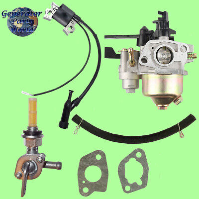 Powerease Carburetor W Shutoff Right Petcock Coil For 2500 3100 Pressure Washer