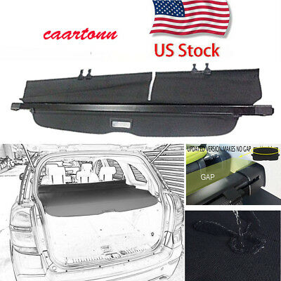 Updated Version Cargo Cover Rear Trunk For 10-2017 Chevrolet Equinox/GMC Terrain