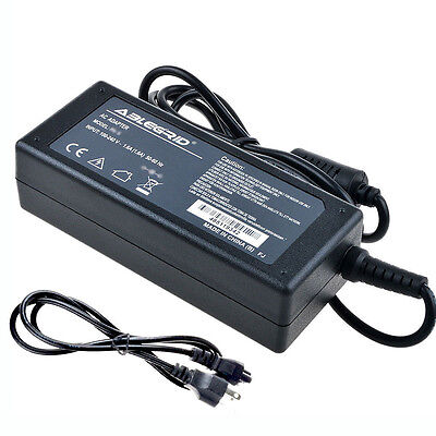 "Ac Adapter For Jvc Emerald Em37t 37"" Led Hdtv Lcd Charger..."